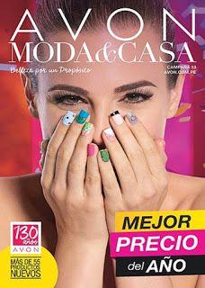 Catalogos Avon, Moda Casa, Dupree, Carmel, Napoli, Leonisa Virtual Online.: Catalogo Avon MODA & CASA Campaña 13 Julio 2016