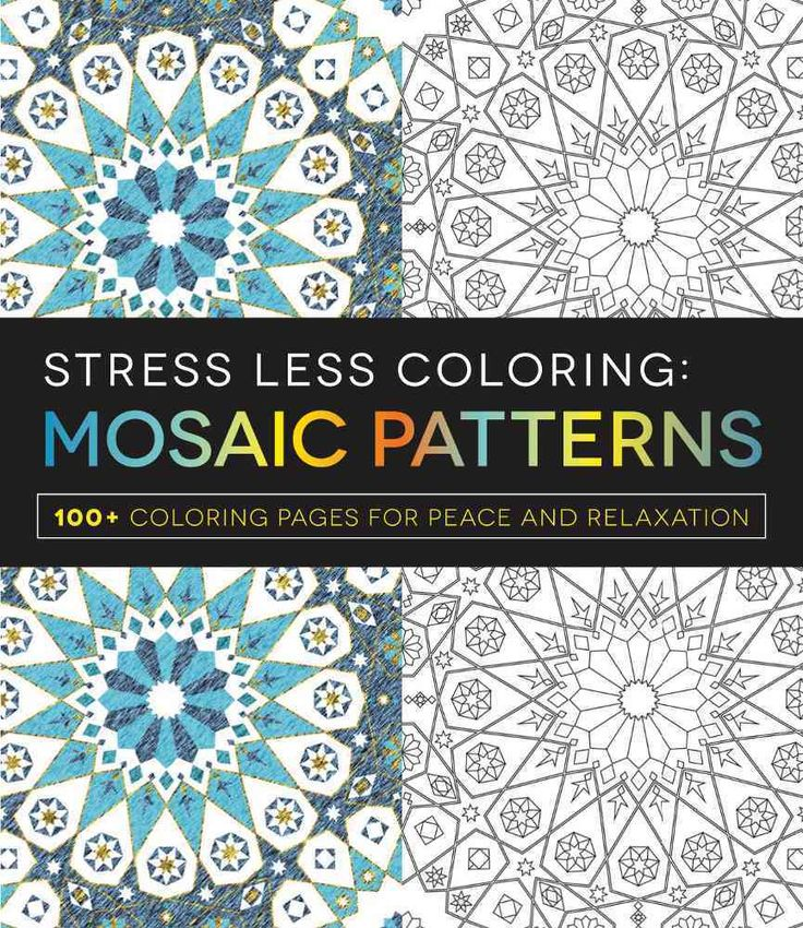 The Paperback Of Stress Less Coloring