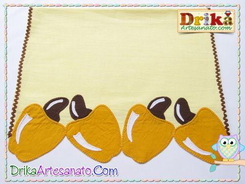 Patchwork moldes caju em patch aplique - Drika Artesanato - O seu Blog de Artesanato.
