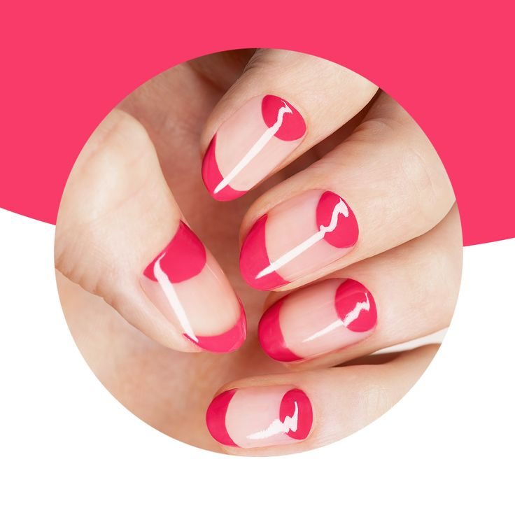 Go glossy with a berry and nude manicure! Share us your colour combinations using #KIKOTRENDSETTERS.