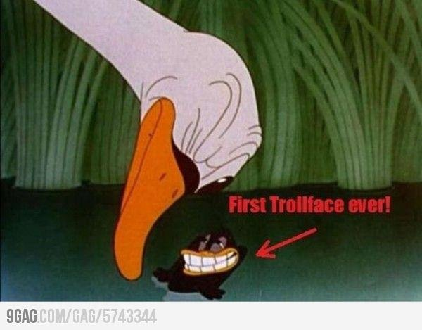 First troll face ever