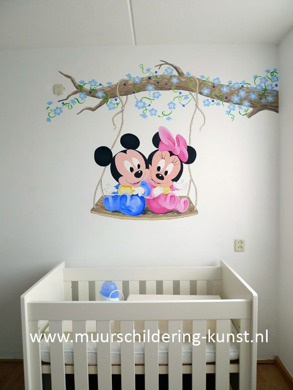 Mickey Mouse Muurschildering 6 Jpg 600 800 Baby Room Decor Baby Boy Room Decor Baby Room Art
