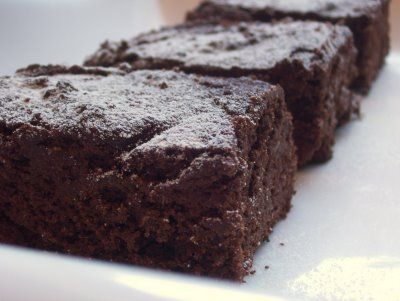fudgy coconut flour brownies: 1 cup coconut flour  2/3 cup good cocoa powder (I like cocoa rouge)  ¼ cup semisweet chocolate chips  ¼ teaspoon salt  1 tablespoon baking powder  ¾ cup butter  1/4 cup olive oil  3 extra large eggs  1 cup lukewarm water  3 tablespoons vanilla rum (or 2 tablespoons regular rum & 1 tablespoon vanilla extract)  ¾ cup agave syrup