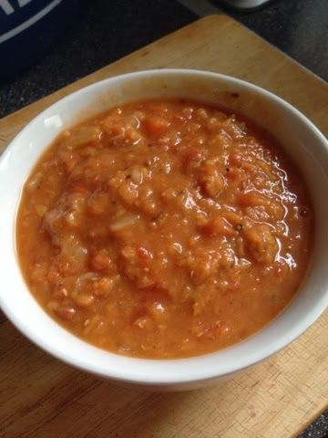 Vicki-Kitchen: Lentil and bacon soup (slimming world friendly)