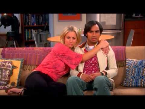 Raj talks to Penny. And Amy. And Bernadette.