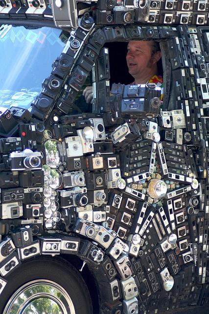 Camera Van @ Art Car Parade