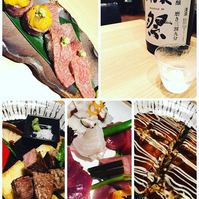 銀座で乾杯🥂山形牛に獺祭。最高のマリアージュ♡行きたい方はご一緒しましょうね。  #salondm #お茶 #紅茶 #銀座#肉 #山形牛 #獺祭 #日本酒 #最高級