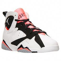 9e6c06d4d20f27 Girls  Preschool Air Jordan Retro 7 Basketball Shoes