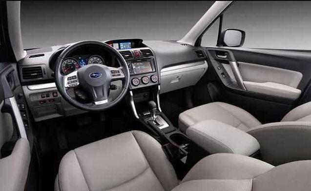 2018 Subaru Forester Cabin Style