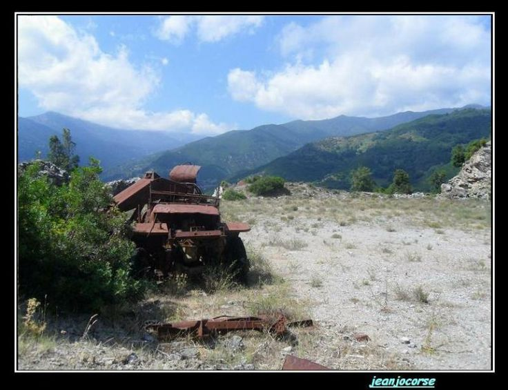 Converted to digger; somewhere in corsica