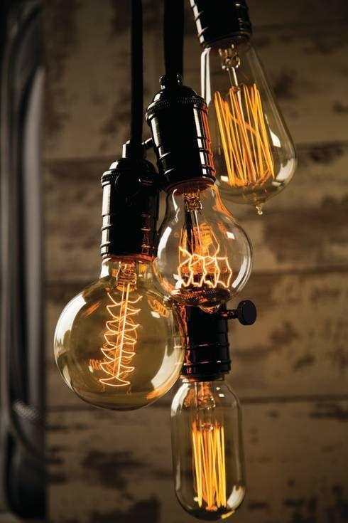 Vintage  M glichkeiten euer Zuhause sch ner zu machen f r wenig Geld Gl hbirnen LampeM bel