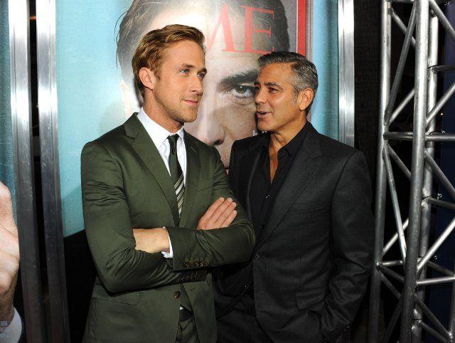 George Clooney y Ryan Gosling | Los Idus de Marzo