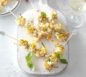 Geroosterde bloemkoolroosjes met sinaasappel en basilicum - Recept - Jumbo Supermarkten