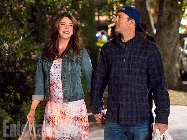 'Gilmore Girls': Exclusive First Look Inside Stars Hollow | Lauren Graham and Scott Patterson | EW.com