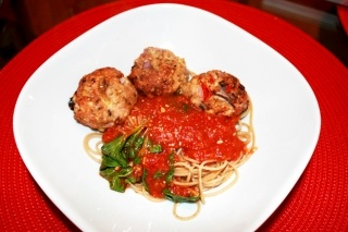 Turkey and Veggies meatballs