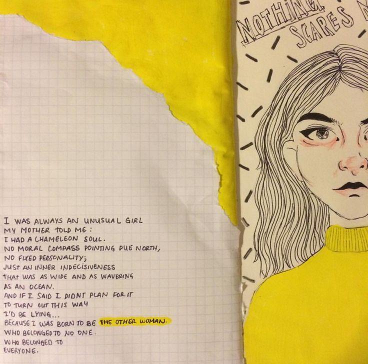 lana del rey ride monologue lyrics art | journaling ...