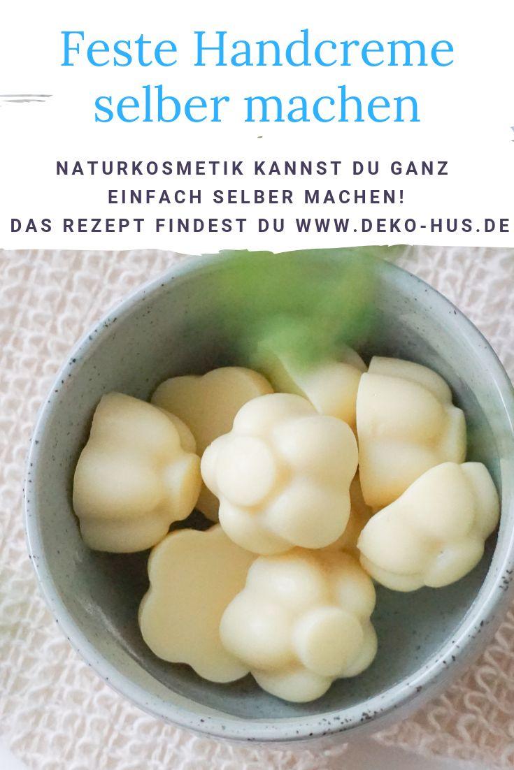 Handcreme selber machen aus natürlichen Zutaten