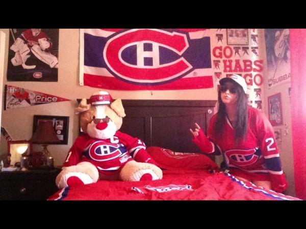 @HabsIsLifee (Twitter) #StayCoolThisSummer Contest Finalist! #Habs #Canadiens #Sunglasses #TeddyBear