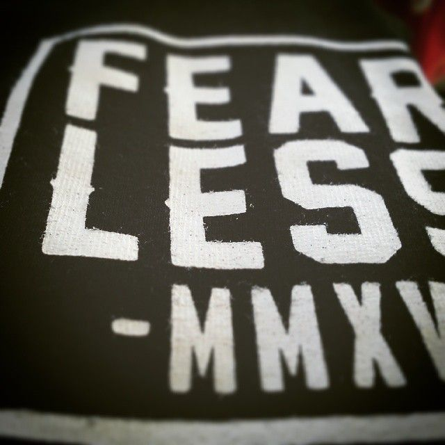Fearless Pocket Print