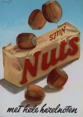 wow, i had totally forgotten about this - i think it was like a chocolate covered nougat with chunks of nuts
