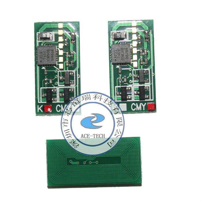 Compatible toner chip for Ricoh MP C3501 ASIA/EUR laser printer cartridge refill reset