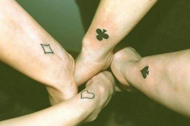 16 tatuajes que te harán pensar en el valor de la amistad - Batanga