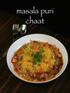 masala puri recipe, masala puri chaat recipe, masala poori with step by step photo/video. roadside masala puri - famous bangalore & south india chaat recipe