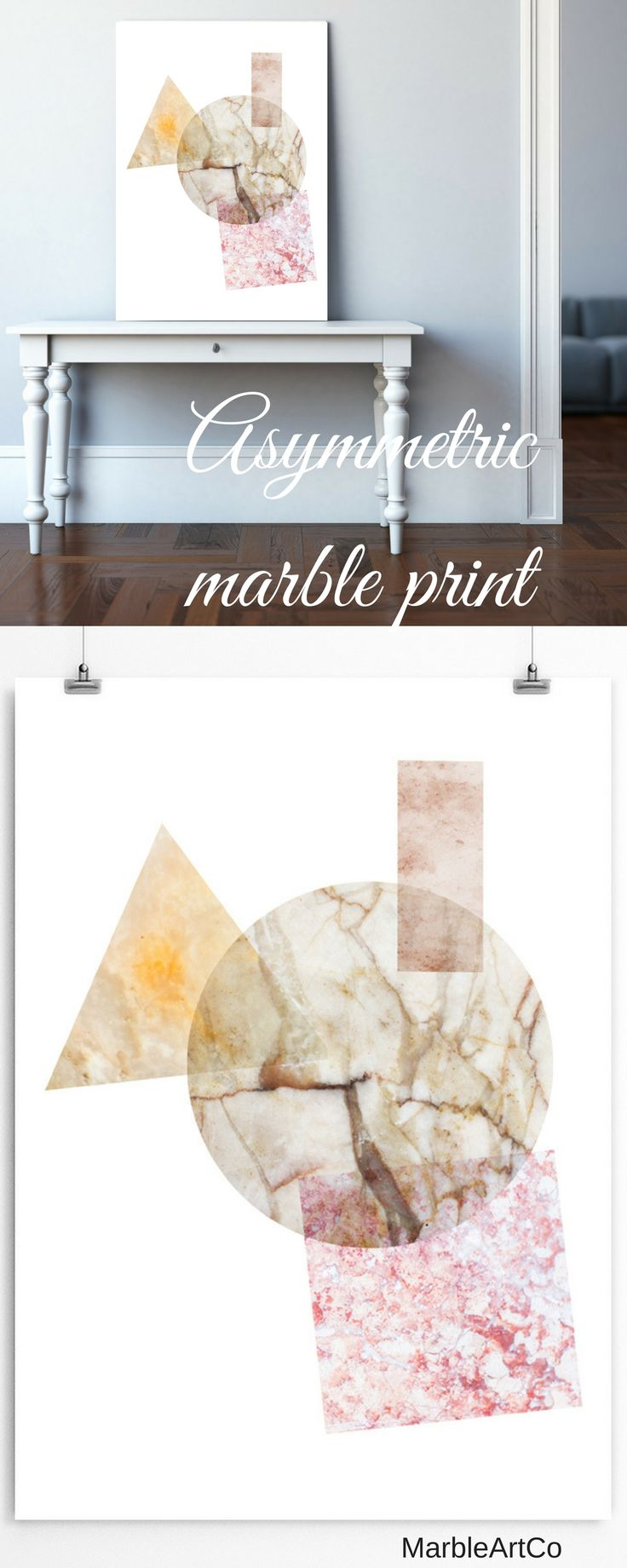 The urban abstract art print created using a beautiful marble textures will be loved by all minimalism and Scandinavian decor fans. Universal decor for decorating your living room or office. Check out on MarbleArtCo | Large Contemporary Art Prints, Framed Abstract Wall Art, Cool Modern Art, Geometric Art Print, Scandi Print, Apartment Warming Gifts