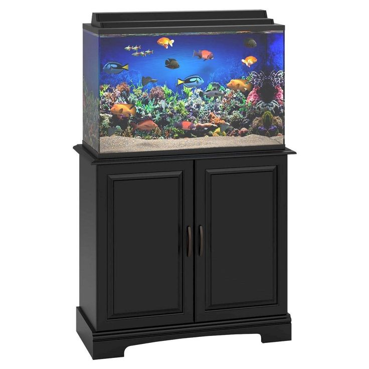 17 Best Ideas About 29 Gallon Aquarium Stand On Pinterest