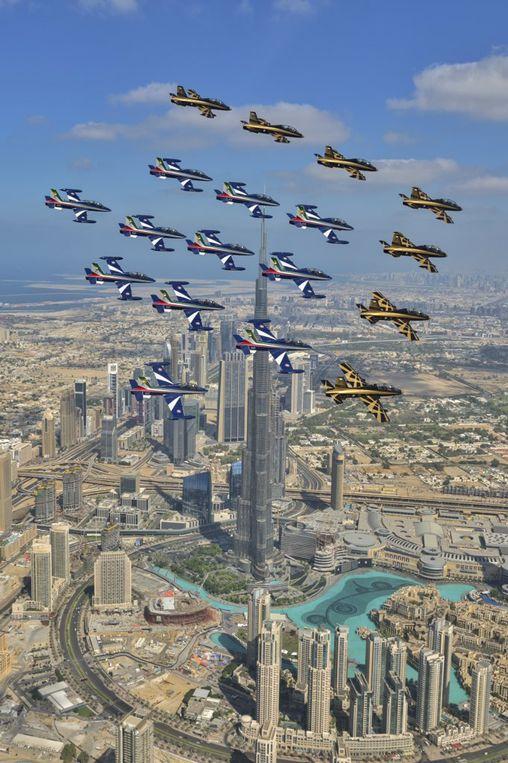 Azzurro Tricolore: Frecce Tricolori a Dubai: all'airshow i gioielli del made in Italy