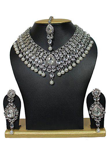 Ddivaa Indian Bollywood Gold Plated Silver Tone Kundan Pe... https://www.amazon.com/dp/B072BDGDLF/ref=cm_sw_r_pi_dp_x_EIumzb8WZYZ1P