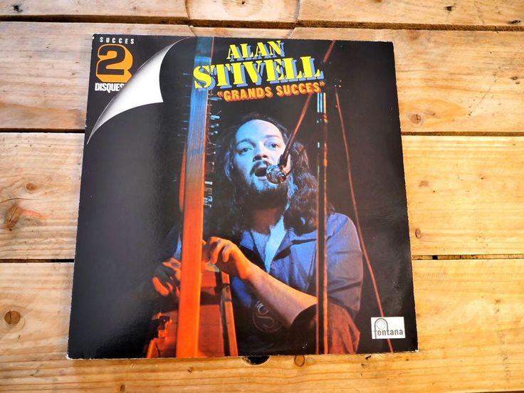 ALAN STIVELL GRANDS SUCCES 2LP 33T VINYLE EX COVER EX ORIGINAL 1975