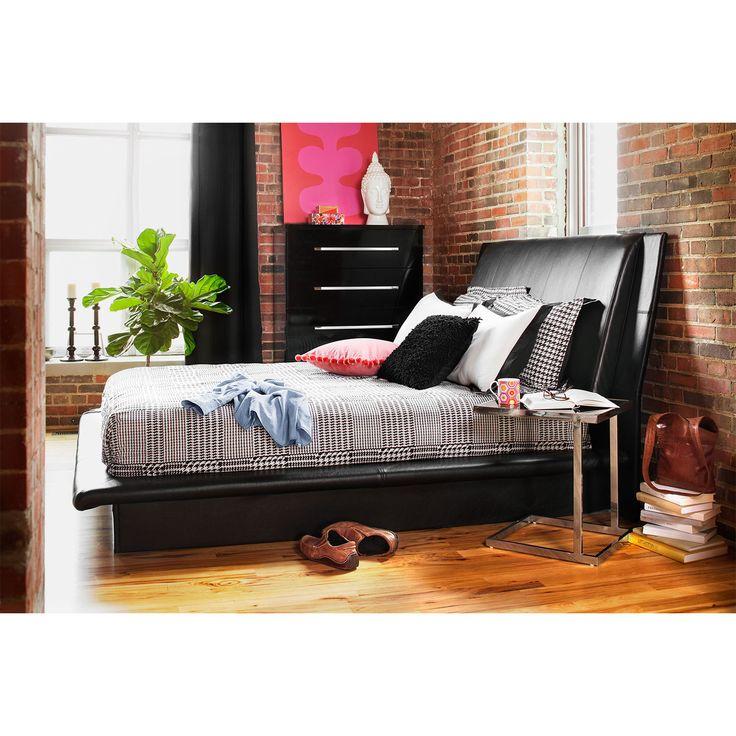 dimora bedroom set%0A Bedroom Furniture  Dimora Black Queen Bed