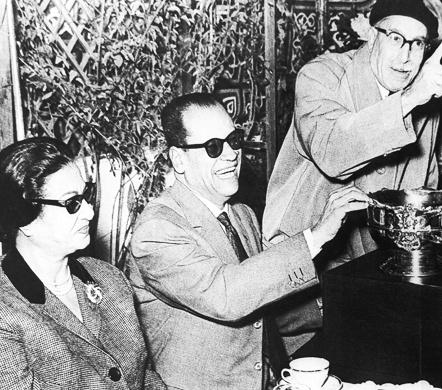 Naguib Mahfouz, Tawfiq al-Hakim & Umm Kulthum