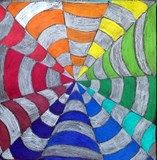 Color wheel, illusions, perspective, ...
