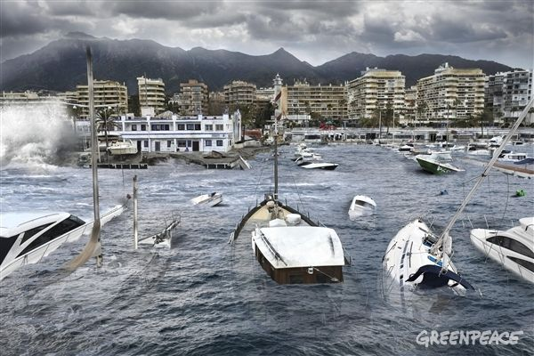 España, hacia un clima extremo: Las fotografías que no deberían poder hacerse | Greenpeace España