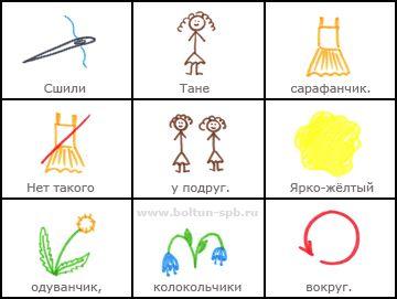 МНЕМОТАБЛИЦЫ: Сарафанчик; © Аверина Кристина