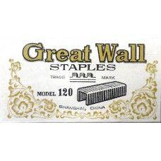 Tűzőkapocs 24/13 500 darab Great Wall - Tűzőgépkapocs Ft Ár 39 Ft Ár Tűzőkapocs - Tűzőgépkapocs - Fűzőkapocs