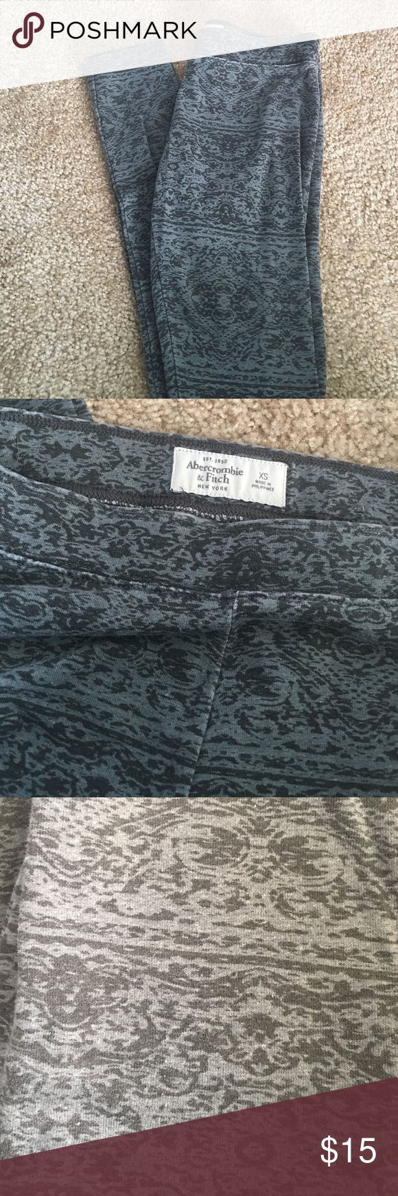 Abercrombie and fitch leggings These are super cute leggings from Abercrombie and fitch. They are in good condition Abercrombie & Fitch Other