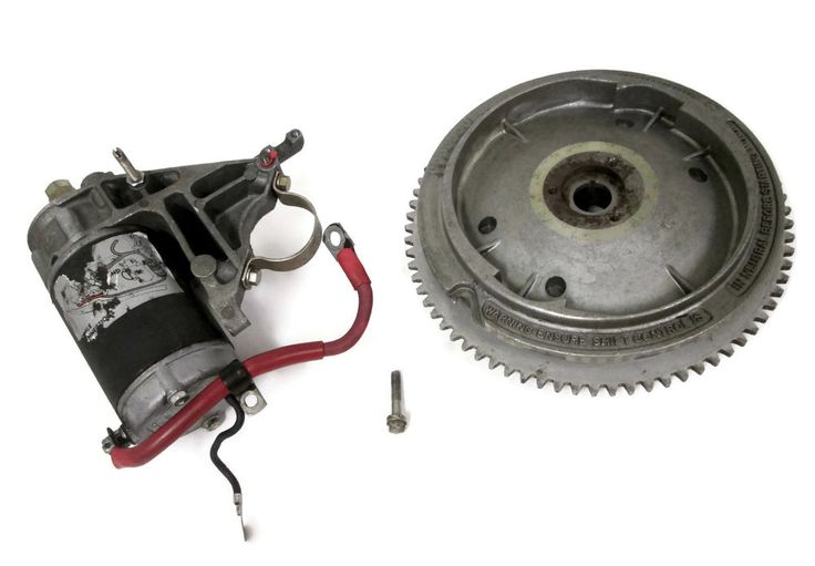 Evinrude Johnson Outboard Flywheel and Starter Motor #582011 #582039 #392133 #320012 #Evinrude #Johnson #Outboard #Flywheel #StarterMotor #ElectricConversionKit