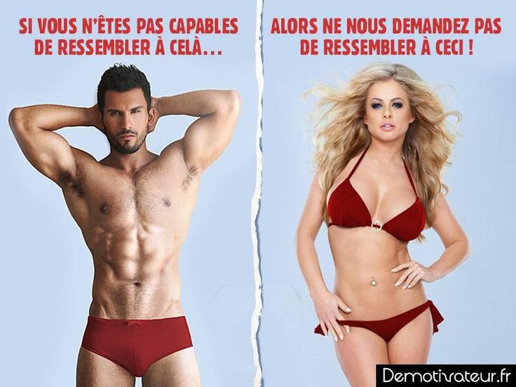 Il faut le dire ! #homme #femme via @demotivateur