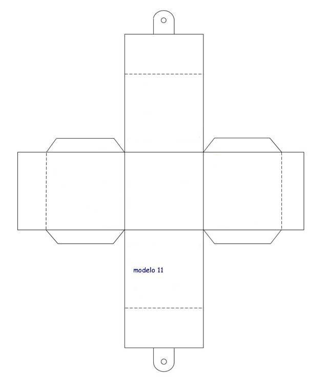 caja cuadrada party favor ideas pinterest template box and free silhouette. Black Bedroom Furniture Sets. Home Design Ideas