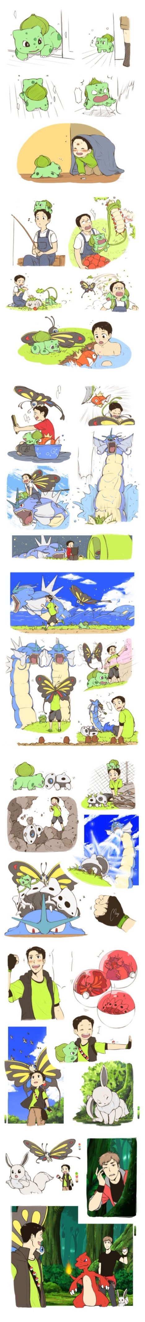 Attack on Titan / Pokémon ~~ Awwe! Marco and Jean are Pokémon trainers!