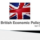 U.S. History / World History: British Economic Policy 1607 to 1763 PowerPoint. Explores the background, early phase, navigation acts, tradition by ... $1.50