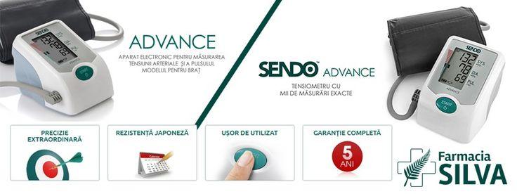 Sendo Advance tensiometru digital pentru brat cu adaptor priza
