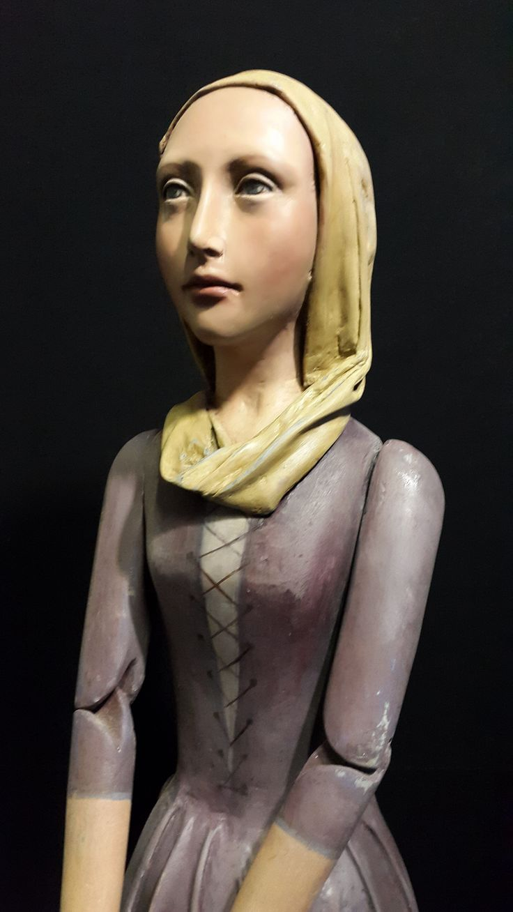 This French I period piece has sold. One of my favourites. The arms are articulated and the mannequin is resin and fiberglass. Grace and quiet strength are qualities  that thread through my work . olgaceramics8@gmail.com