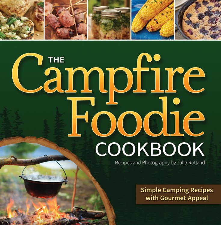 The Campfire Foodie Cookbook: Simple Camping Recipes with Gourmet Appeal, by renowned cook, food stylist, and author Julia Rutland, arrives right in time for the outdoor season. Her camper-friendly cookbook comes with more than 100 delicious recipes with full-color photographs for every delicious dish.  Campfire FoodieIn the weeks to come, the author will share some of her favorite dishes with us. Be on the lookout for English Muffulettas, Vegetarian Campfire Chili, Southwestern Chicken and…