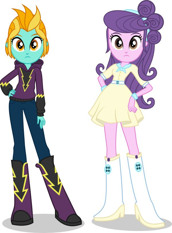 Lightning Dust and Suri by punzil504 on DeviantArt   Equestria girls ...