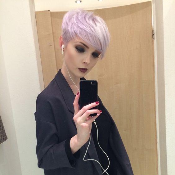 besuch für mehr Lilac pixie Mais #kurzhaarfrisuren Der Beitrag Lilac pixie erschien zuerst auf kurzhaarfrisuren.