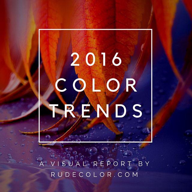 #design #color #colors #web #graphics #interior #architecture #combination #scheme #palette #trends #2016